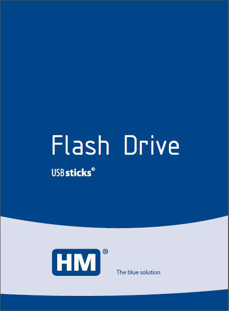 HM Blue USB Flash Drive Catalogue