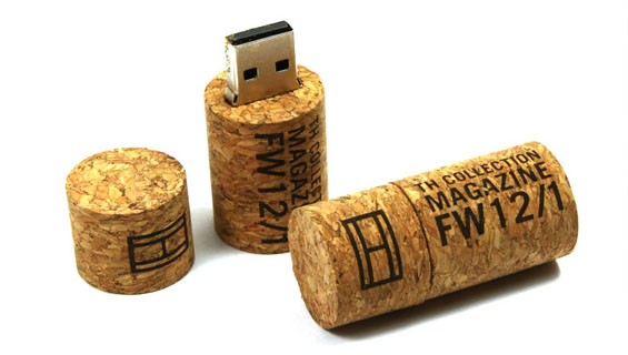 Natural USB Flash Drives