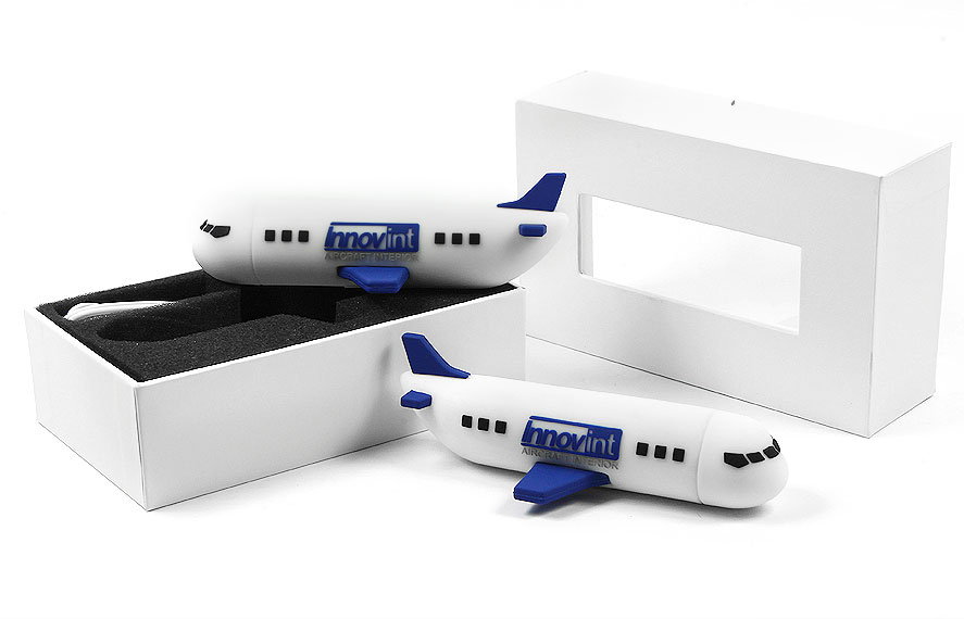 Creative Power Bank Airplane