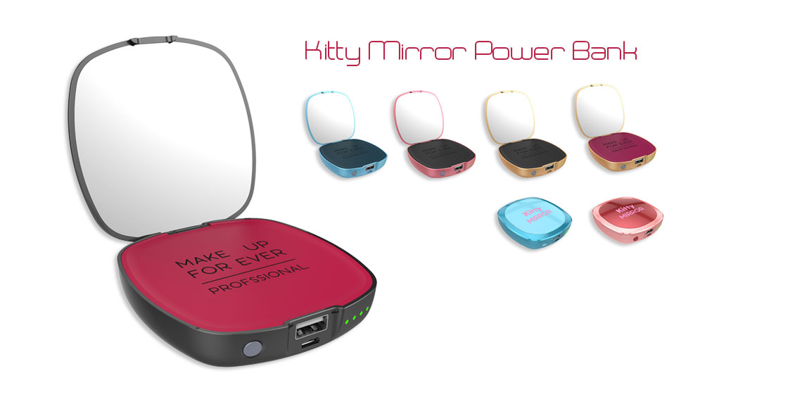 Mirror Kitty Power Bank