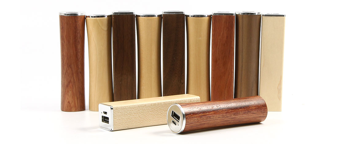 Wood Power Bank